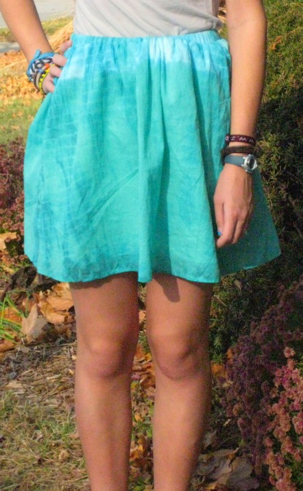 skirt makeover and pattern review