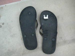 juliecache, flip flop fix-it, pinterest