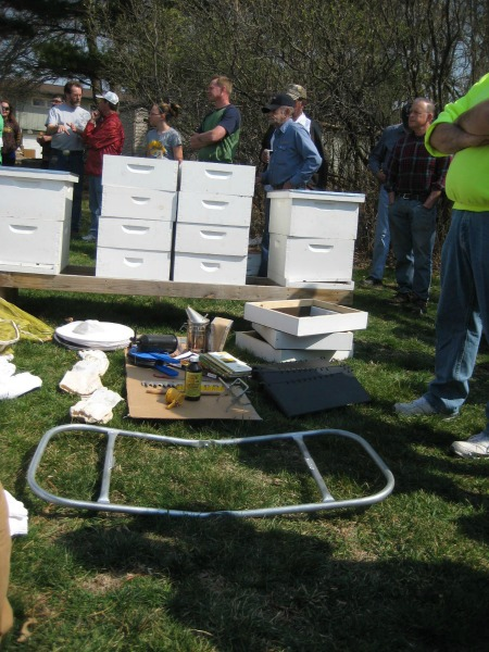ciba auction 6 complete hives crop